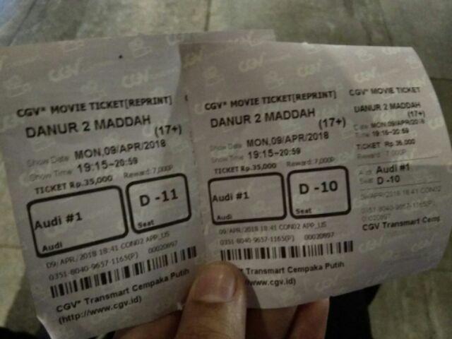 Tiket Bioskop Cgv Transmart Cempaka Putih Jakarta Shopee Indonesia