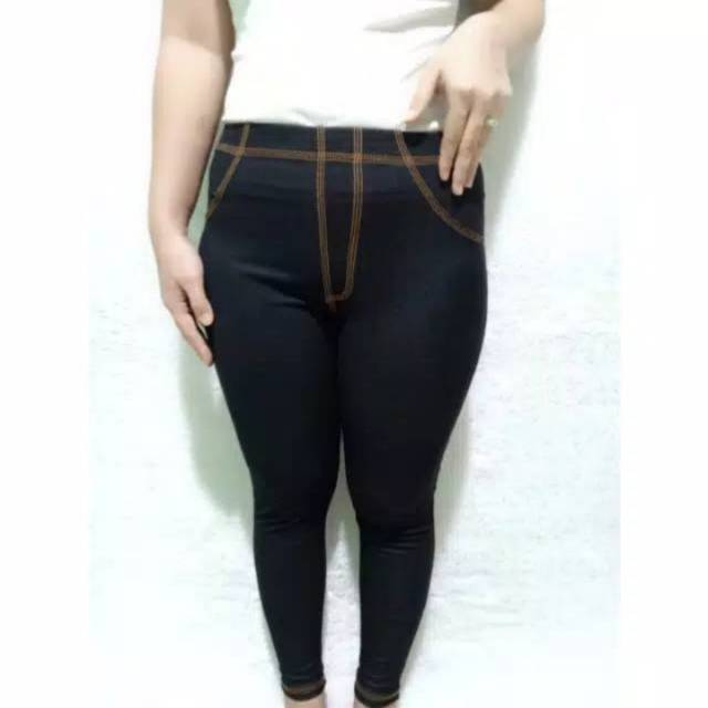 Celana Leging Celana Legging Jeans Denim Termurah Terbaru Cod Shopee Indonesia