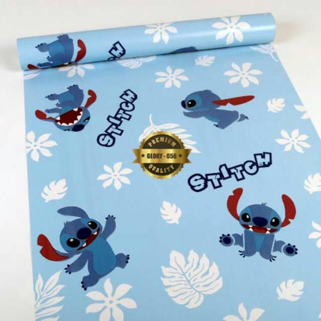 Wallpaper Dinding Sticker Kartun Stitch Shopee Indonesia