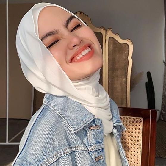 Hijab Pashmina Barbie Shawl Premium Bahan Cerutti Baby Doll Shopee Indonesia