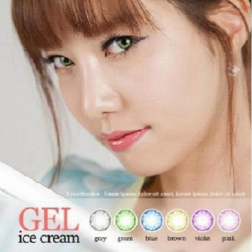 Softlens Gel Ice Cream Kotak / Soft Lens Gel ice Cream Free Tempat - Soflents Original Murah