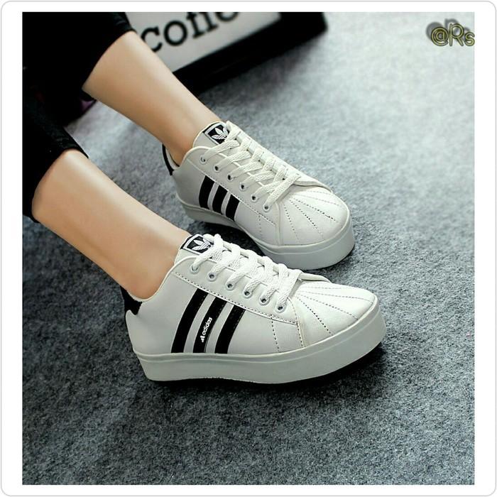 Sepatu Wanita Sport Running Olahraga Kets Senam Ds142 Abu - harga ... d75866c1f2