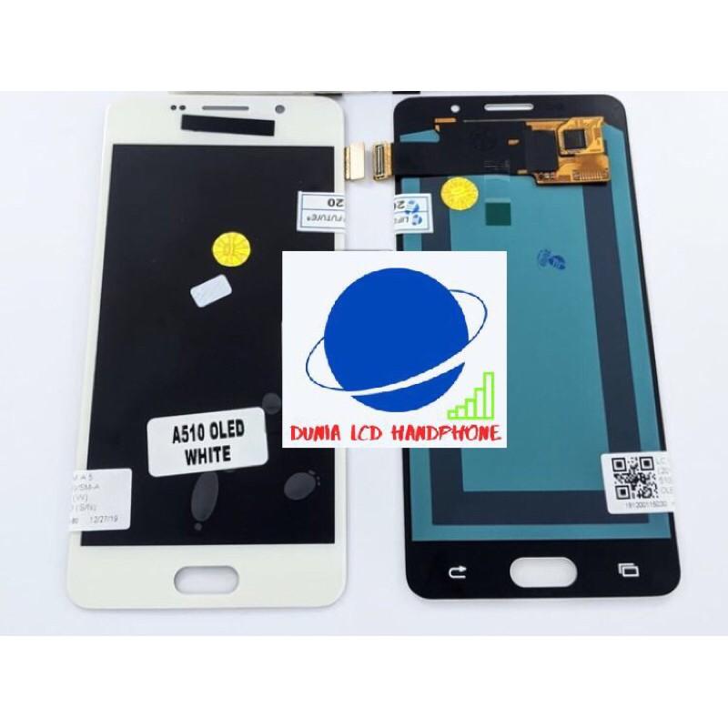 LCD FULLSET TOUCHSCREEN SAMSUNG A5 2016 A510 OLED ORIGINAL