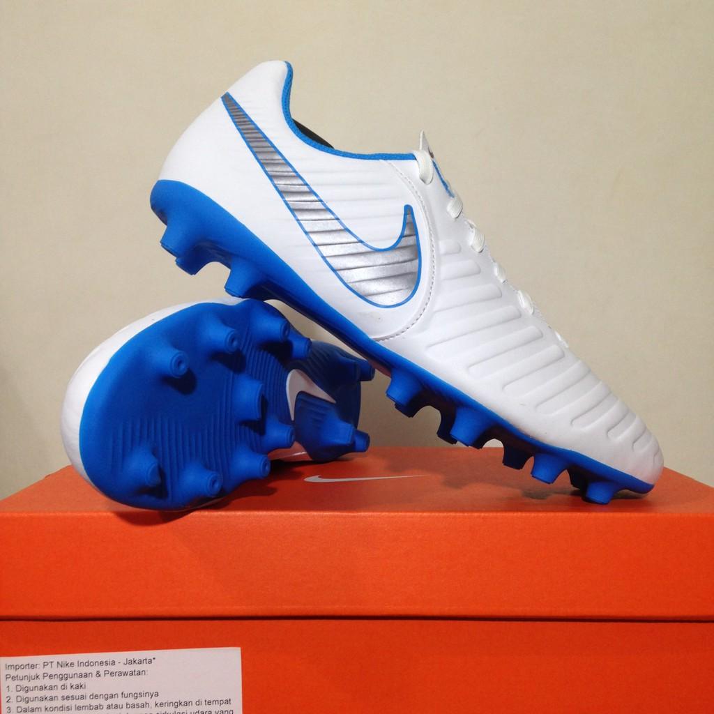 Sepatu Bola Nike Legend 7 Club FG White Blue Hero AH7251-107 Original BNIB   a5a1d0ad14