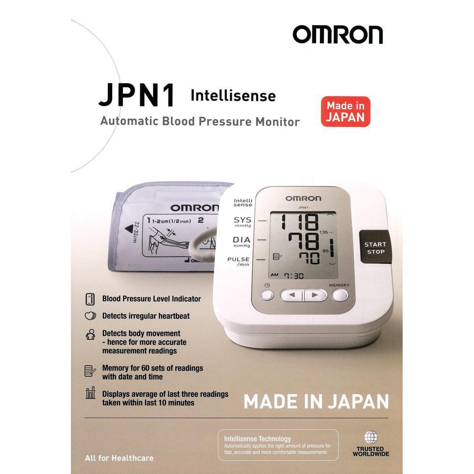Omron Automatic Blood Pressure Monitor Hem 7211 Shopee Indonesia