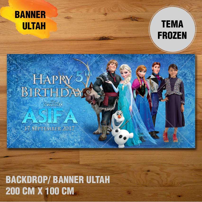 Spanduk   Banner   Backdrop Ulang Tahun Custom Tema Sofia The First ... 5db1759b34