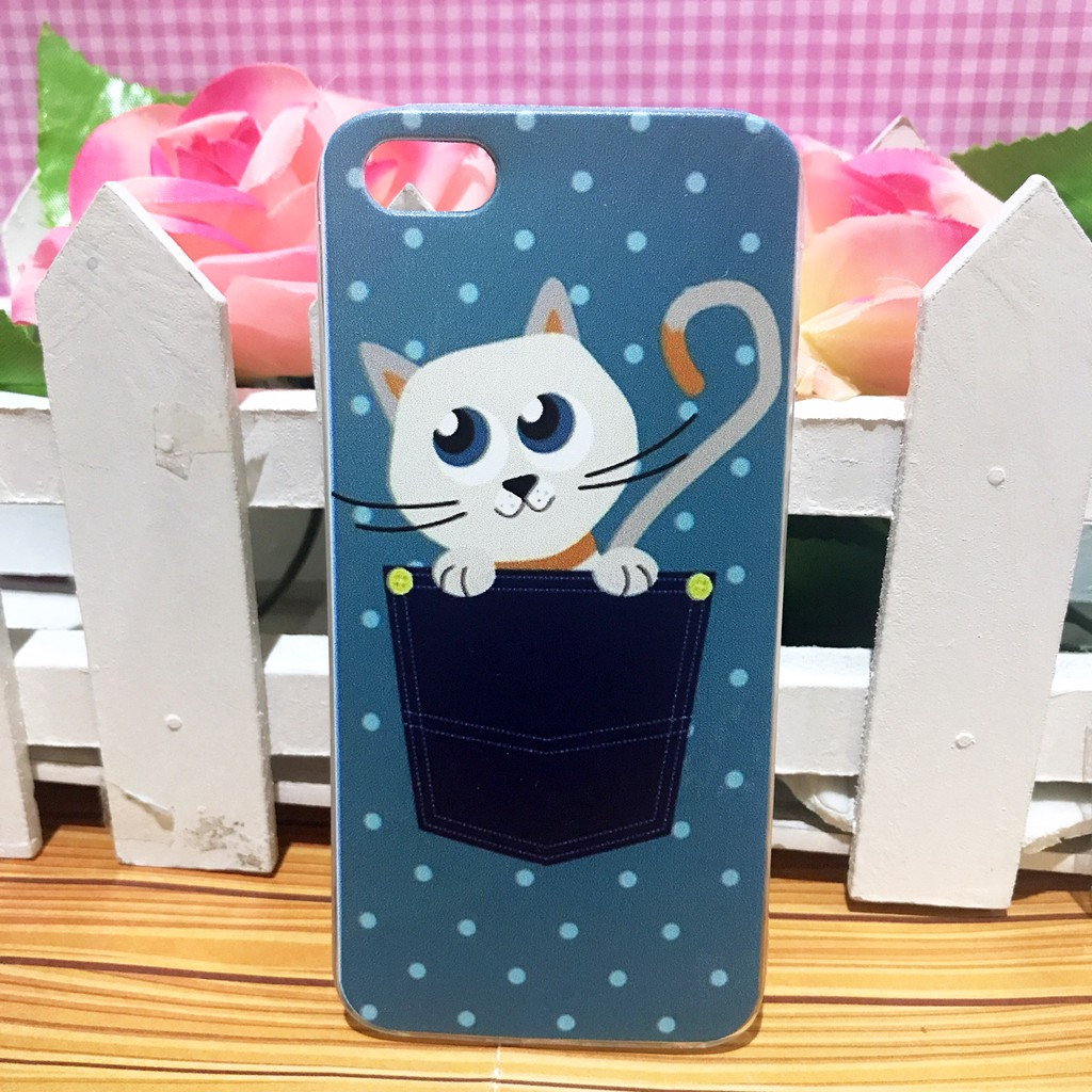 iPhone5 iPhone 5s - Softcase Casing Custom Case Cover Kucing TP-20