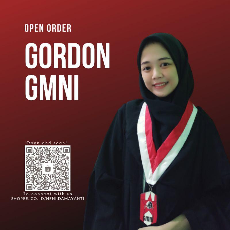 GORDON GMNI KALUNG GMNI MEDALI GMNI AKSESORIS GMNI GERAKAN MAHASISWA NASIONAL INDONESIA