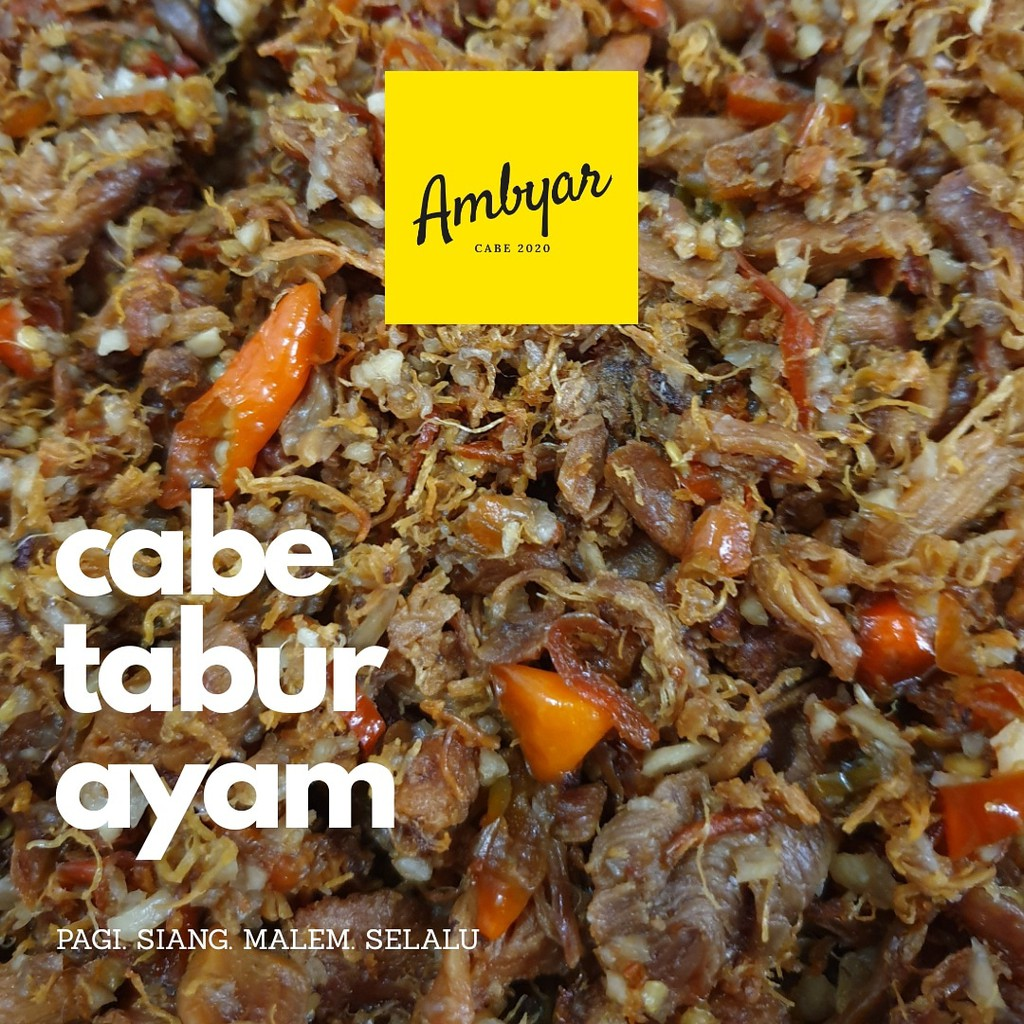 Ayam Suwir Kriuk Cabe Ambyar Pedas Gurih Shopee Indonesia