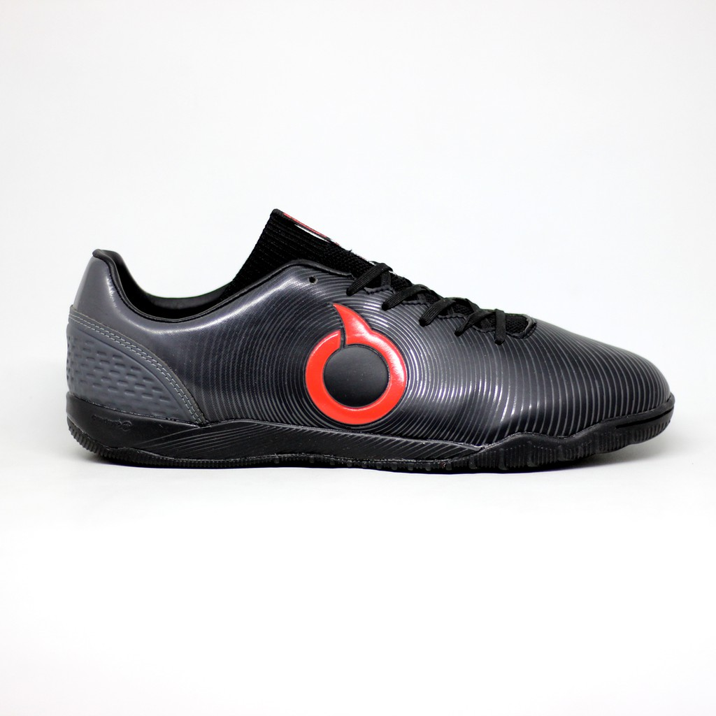 Sepatu Futsal Ortuseight Catalyst Oracle In Black Original