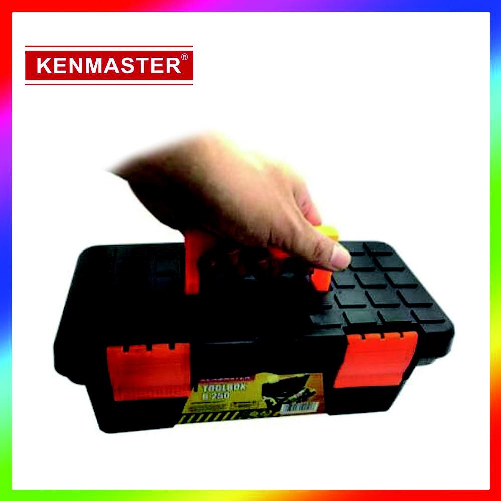 Kenmaster K380 Toolbox Besar Tool Kit Box Tempat Kunci Update Kotak Penyimpanan Biru Termurah Shopee Indonesia