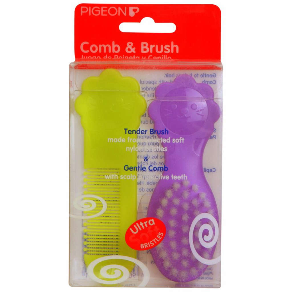 Pigeon Comb and Brush Sisir .