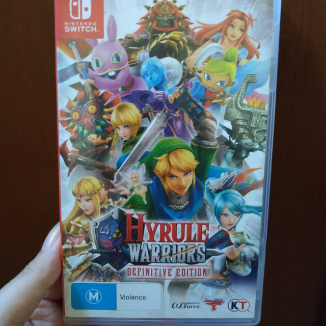 Hyrule Warriors Definitive Edition Switch Shopee Indonesia
