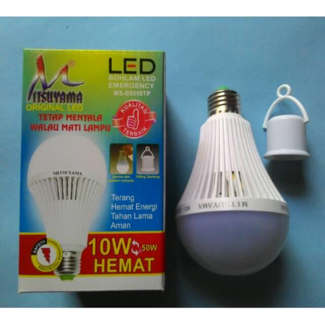 Paket Lampu bohlam LED Mitsuyama .