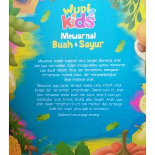 Wudi Kids Mewarnai Buah Dan Sayur Shopee Indonesia