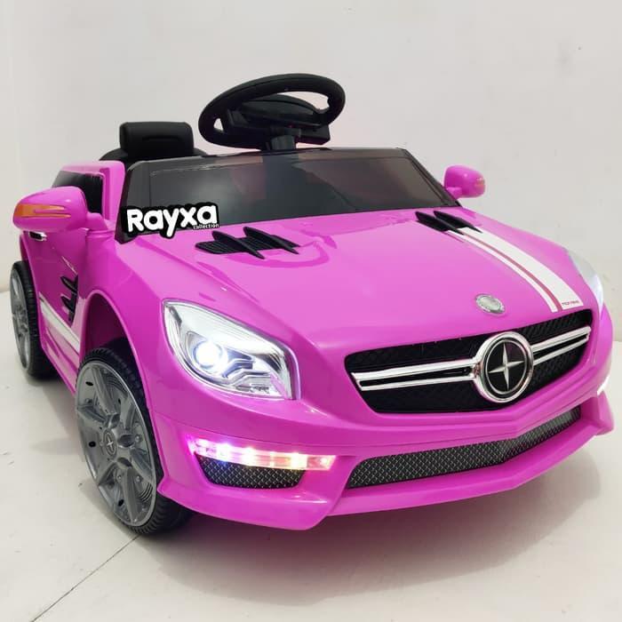 Hobi Mainan Mobil Aki Anak Pmb M 5688 Moraine Pink Dengan Remote Bluetooth Shopee Indonesia