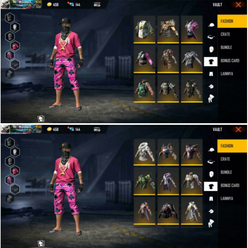 Akun Ff Sultan Old S2 3 7 8 Dll Total 20 Elite Pass Spek Lobby Gg Shopee Indonesia