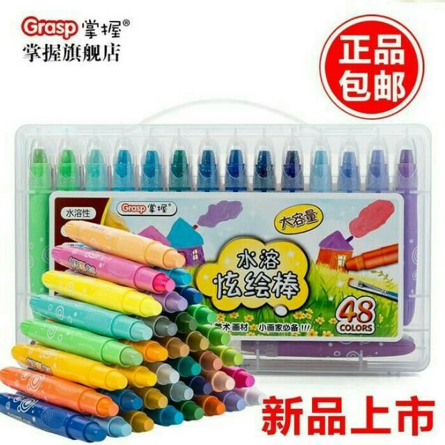 Grasp Crayon Grasp Isi 48 Ori Shopee Indonesia