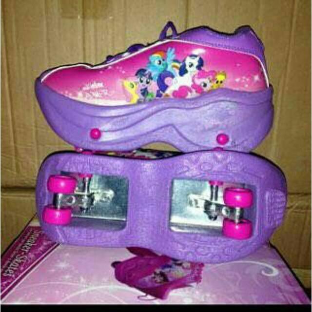 Sepatu Roda 2 My Little Pony Shopee Indonesia