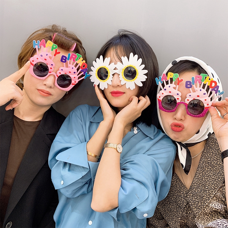 1 Pc Novelty Queen Funny Costume Photo Props Eyewear Eyeglasses Shades for Party