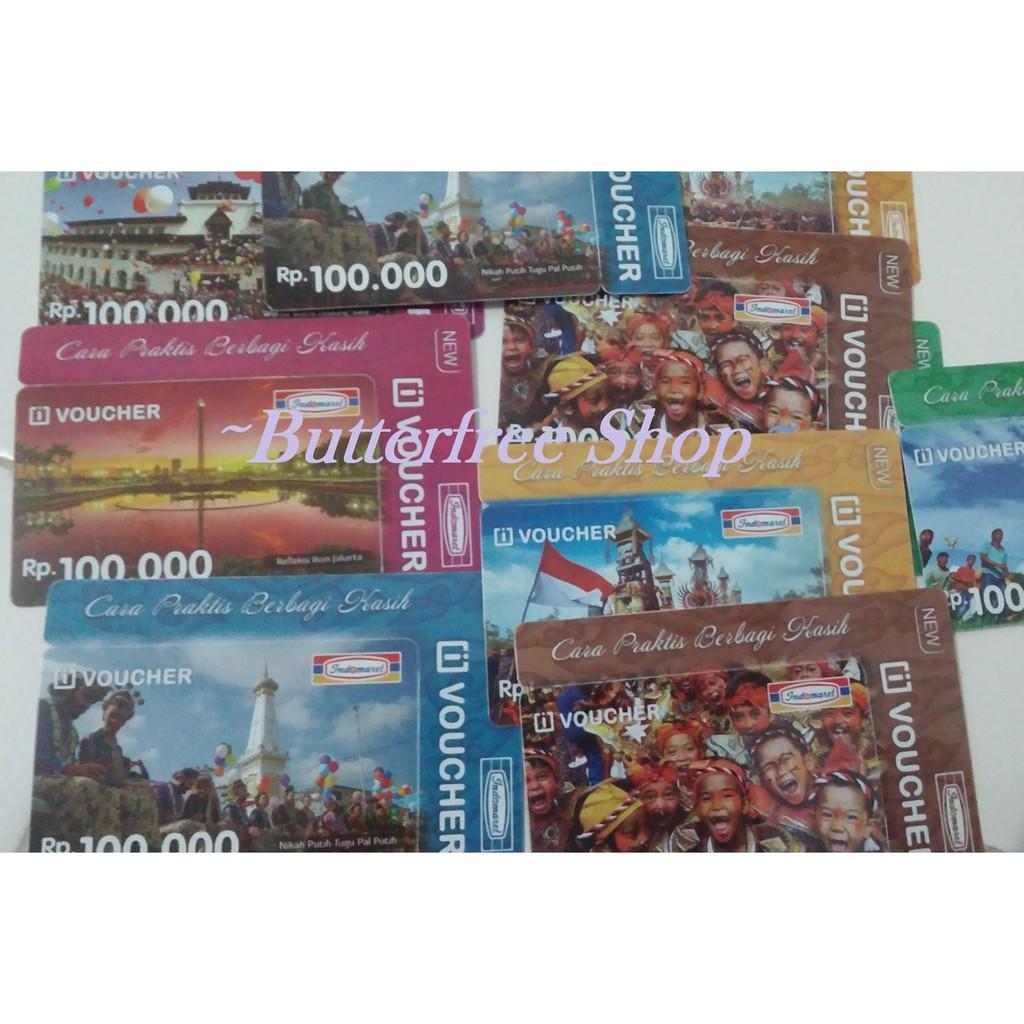 Voucher Indomaret Murah Shopee Indonesia Gift Card 100 Rb