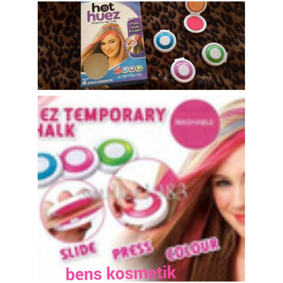Hot Huez Temporary Hair Chalk Pewarna Rambut Imitasi Spec Dan Kapur 24 Warna Temporer Ss 10ml Krim Diy Tidak Beracun Shopee Indonesia