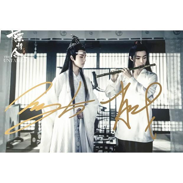 Lampu Foto Dengan Tanda Tangan Kpop Idol War King A Nama Shopee