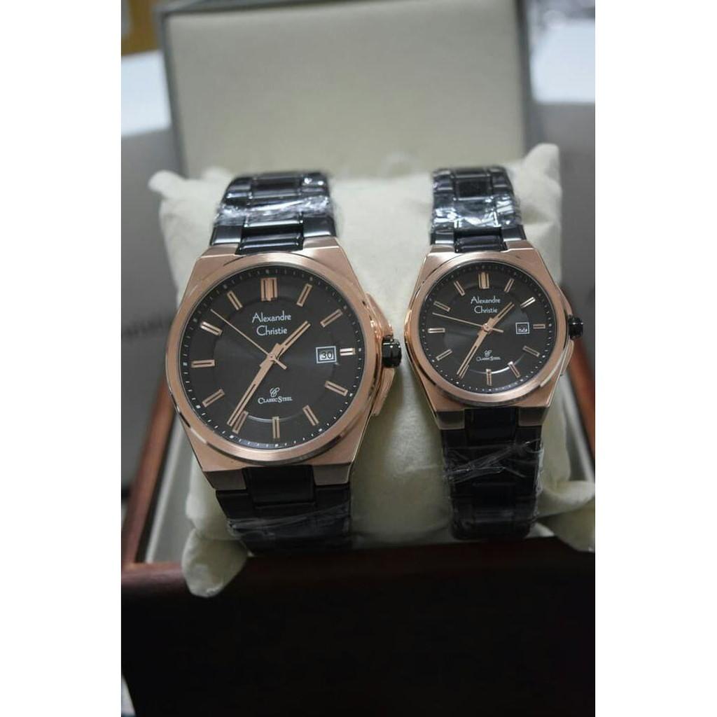 ... Silver Komb Gold-Putih - Stainless Steel - SUR197P1. Source · jam tangan ac couple - Temukan Harga dan Penawaran Jam Tangan Couple Online Terbaik - Jam