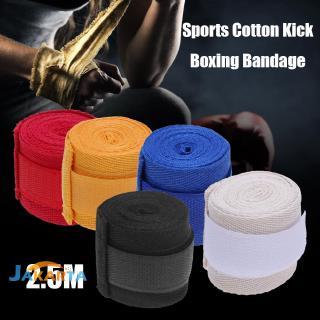 3661 2PCS 5M Length 5CM Width Boxing Bandage Hand Wraps Sanda Strap Muay Thai