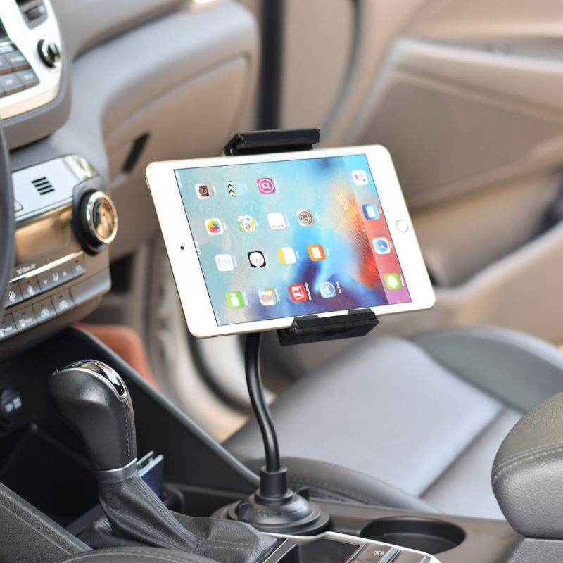 Universal iPad Tablet Holder Car Headrest Seat Cradle 360 Degree Rotatable Mount