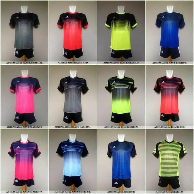 Jersey bola dengan berbagai macam merk   Shopee Indonesia