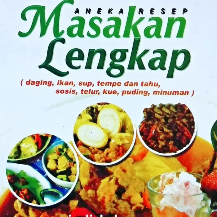 Buku Aneka Resep Masakan Lengkap 4 Sehat 5 Sempurna Shopee Indonesia