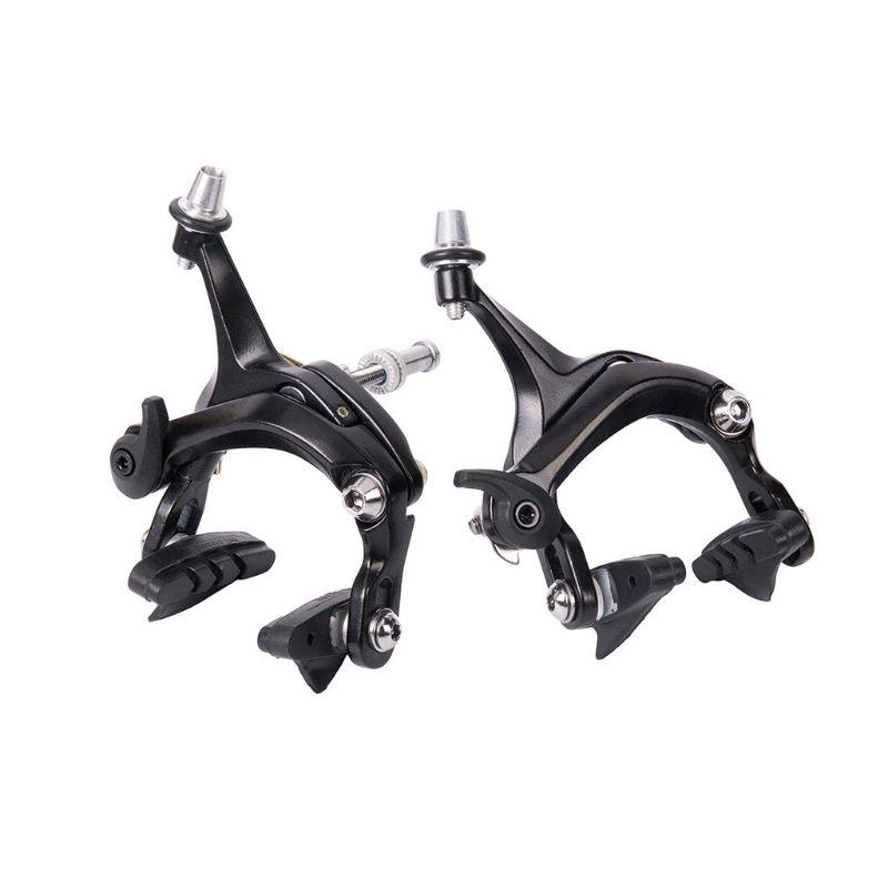 Universal Brake Side Pull Caliper Road//BMX Bike Brakeset Black Rear Brake