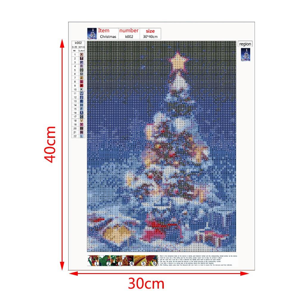 4Pcs DIY Lukisan Diamond 5D Dengan Gambar Manusia Salju Bernuansa Natal Untuk Hiasan Dekorasi Rumah