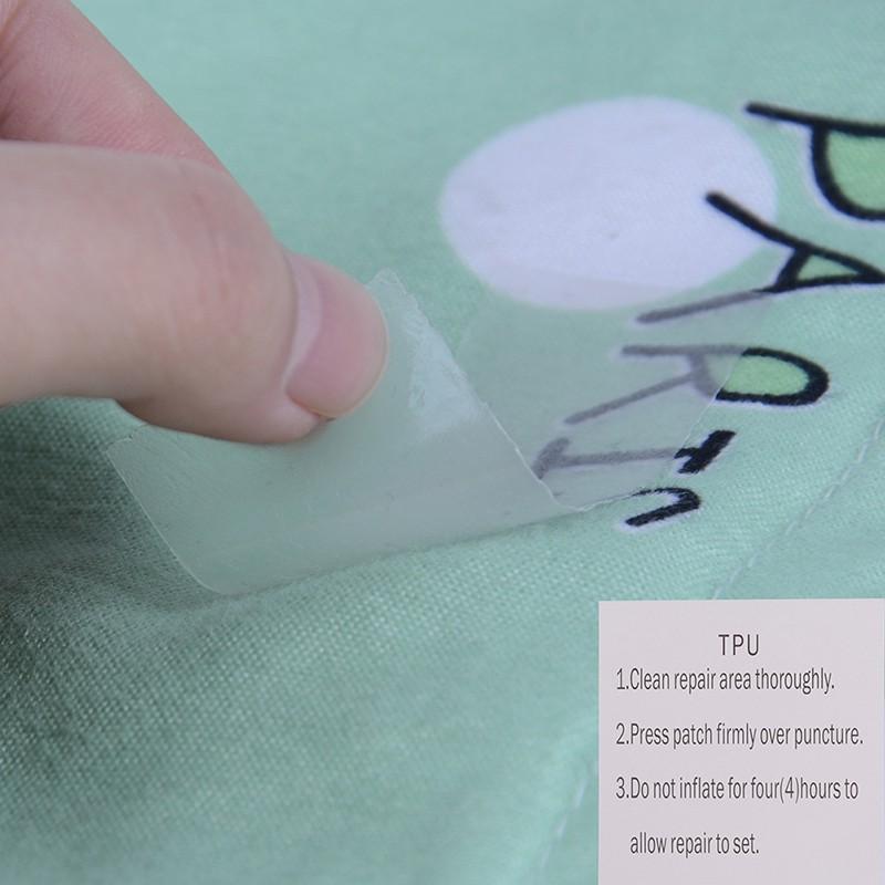 6pcs Nylon Self-adhesive Down Jacket Repair Patches Washable Waterproof Tape