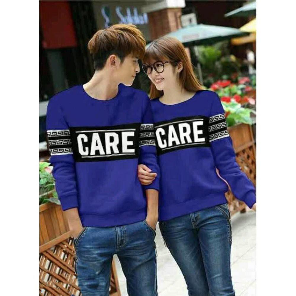 Sweater Couple Pasangan Baju A Roundhand Secker Sj0015 Shopee Indonesia