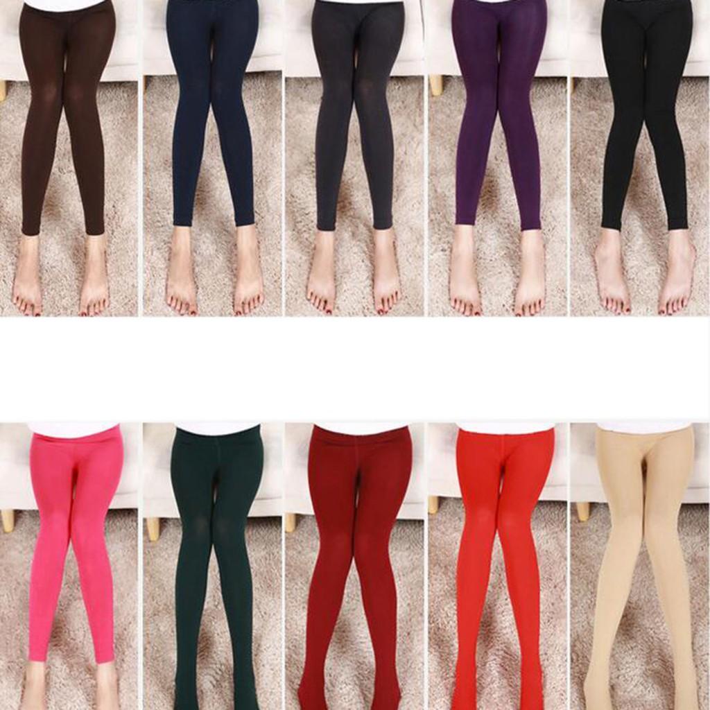 Celana Legging Wanita Celana Terusan Musim Dingin Bahan Tebal Shopee Indonesia