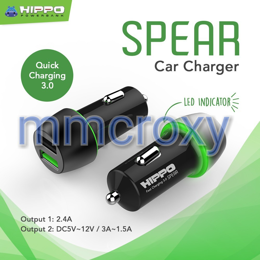 Hippo Charger Nymp Micro 2 Usb 44a Fast Charging Hitam Garansi 1 Multi Adaptor Aero 3 Ports Simple Pack Ilo Af201 Quick 30 Shopee Indonesia