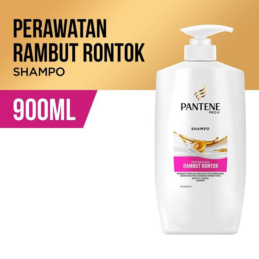 Expired Min 2021 Pantene Shampoo Hair Fall Control 900ml 900 Ml 750ml 750 Ml Shopee Indonesia