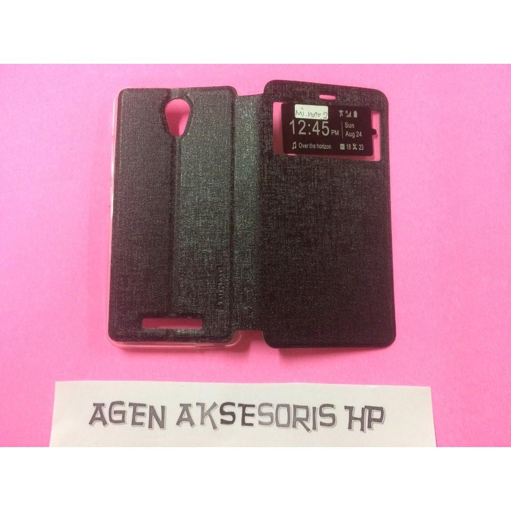 Cover Case Flip Lenovo Vibe C A2020 .