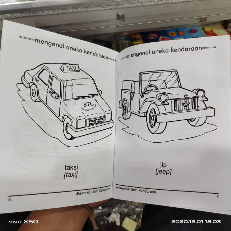 Buku Mewarnai Anak Paud Dan Tk Farhas Shopee Indonesia