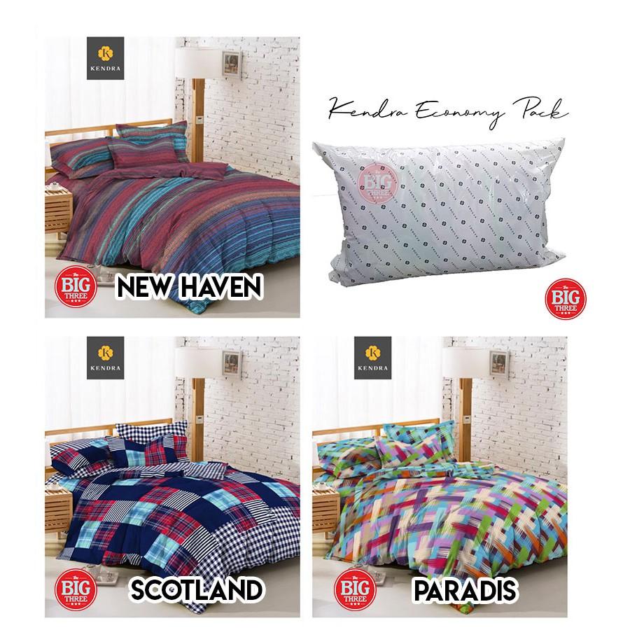 Set Bedcover + Sprei Rumbai CARMINA 180x200 Bear Coffee Swan Strawberry Paris - BC King Size