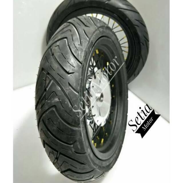 Velg Champ Gold - Sepaket Tapak Lebar 250 x 300 Ring 17   Shopee Indonesia