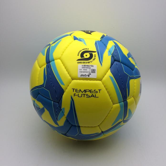 Promo Bola Futsal Mitre Futsal Tempest D32P Yellow Bb1982Ybu Original Bnwt   1c9b0ddaaf00a