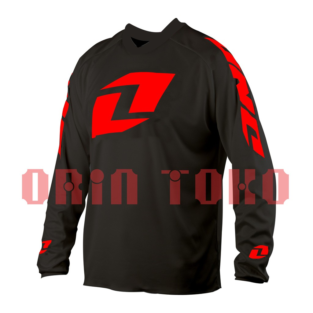 Jersey Sepeda Downhill & Trail ONE ATOM Shopee Indonesia