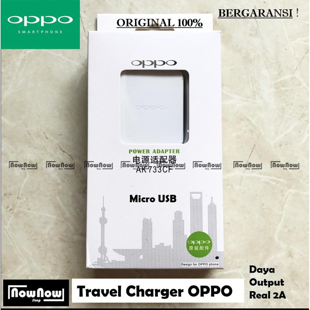 Charger Oppo 2a Original Ak733cf Micro Usb A31 A37 A39 A53 A57 A59 Casan F1s F3 F5 F7 A33 Neo 7 9 F1 Ak933 A77 Joy 3 5 5s Mirror R3 Shopee Indonesia
