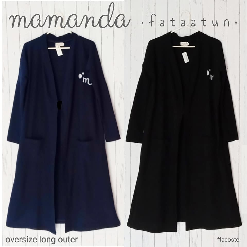 Oversize Long Outer Remaja/Dewasa by Mamanda