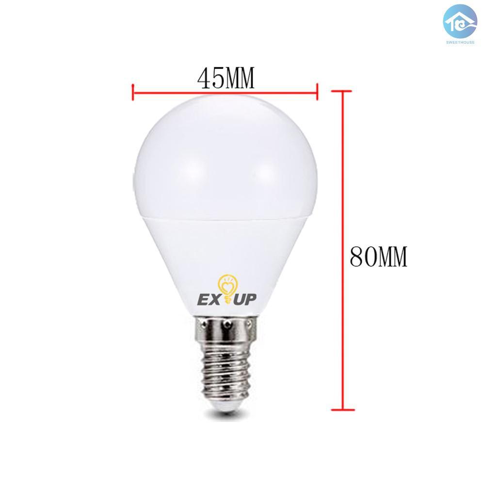 St 110 130v Led Light Bulbs 7w E14 Led Spotlight Bulb Lamp Globe Light Bulbs Frosted Led Filament Indoor Bulb For Ceiling Lighting Warm White 5pcs Shopee Indonesia