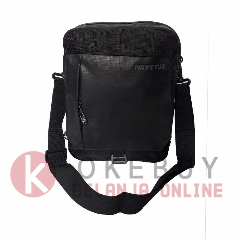 Tas Selempang Tablet NAVY CLUB 8270 Black