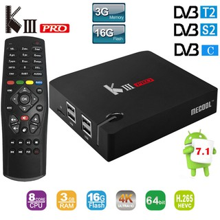 MECOOL KIII PRO TV Box Amlogic S912 Octa Core Android 7 1 OS Media Player